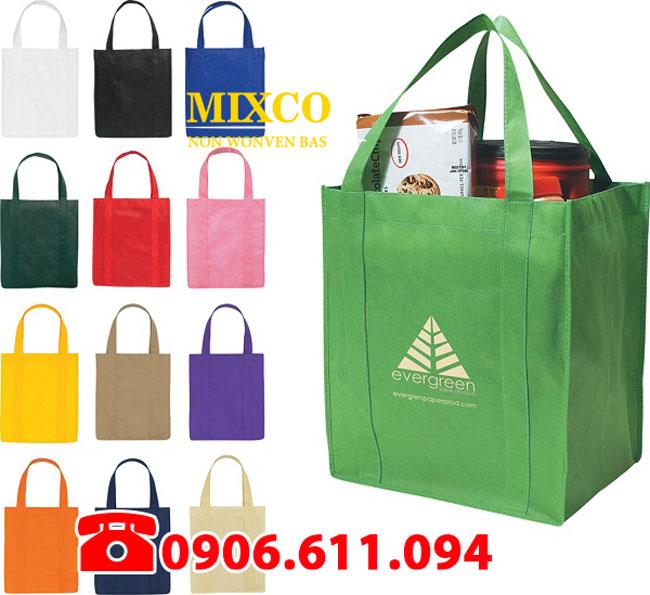 công ty sản xuất túi vải không dệt giá rẻ Mixco