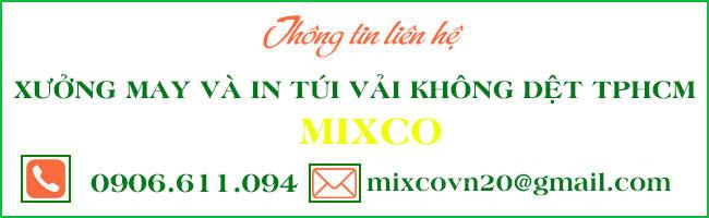 Thông tin liên hệ xưởng Mixco