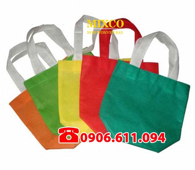 Công ty túi vải bố dạng chặt đáy Mixco giá rẻ TPHCM