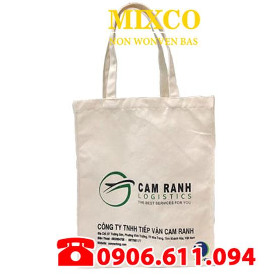 Xưởng may túi vải bố dạng dẹp giá rẻ TPHCM Mixco