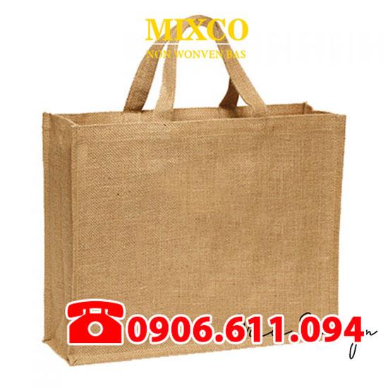 Túi vải bố dạng hộp giá rẻ TPHCM Mixco