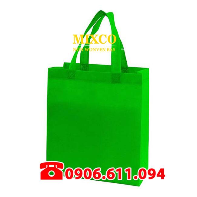 Xưởng may túi vải bố dạng hộp Mixco