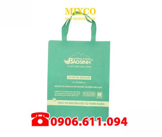 Xưởng may túi vải bố dạng quai ép Mixco