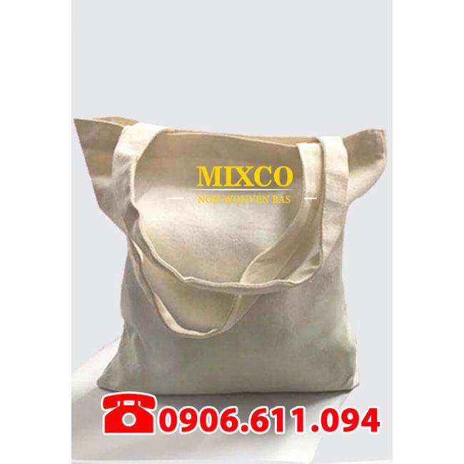 Túi vải bố trơn giá rẻ TPHCM