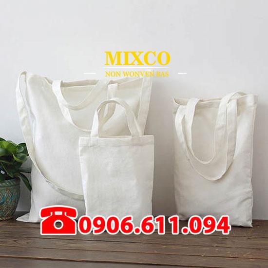 Công ty túi vải bố trơn Mixco giá rẻ TPHCM