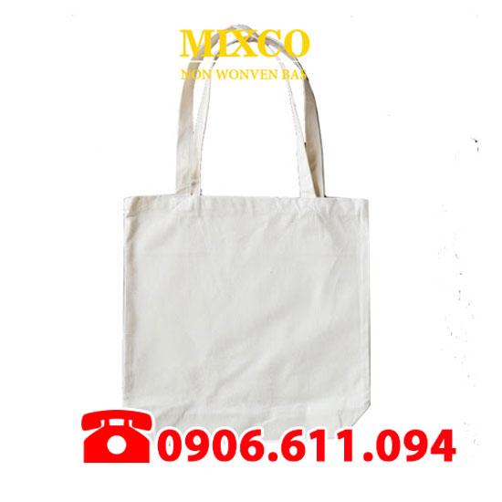 Xưởng túi vải bố trơn giá rẻ TPHCM Mixco