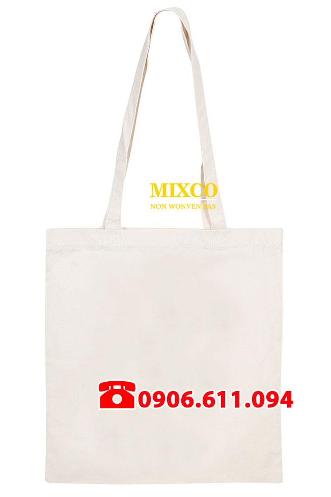 Xưởng túi vải bố trơn Mixco