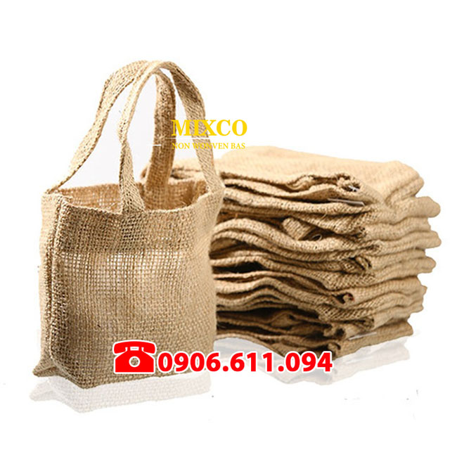 Túi vải đay có quai