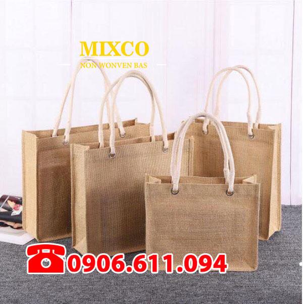 Công ty may túi vải đay có quai Mixco giá rẻ
