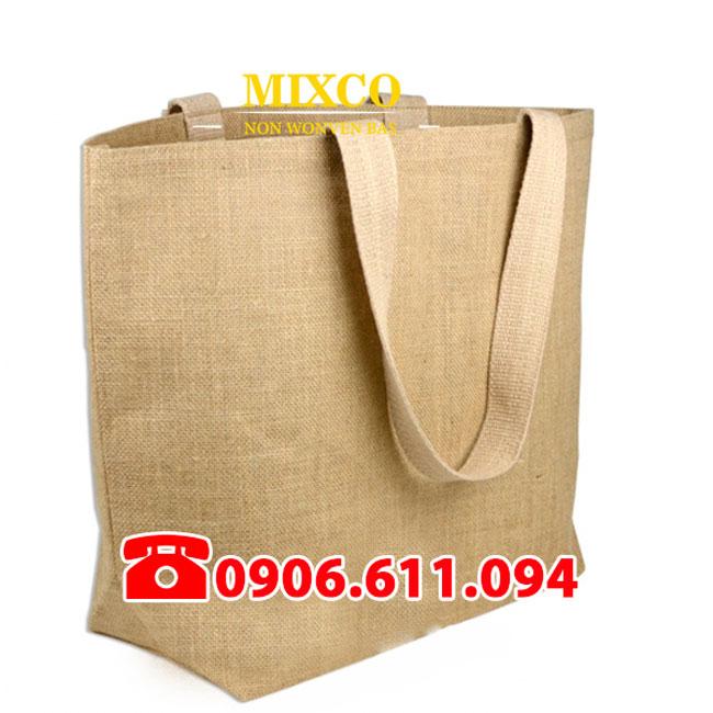 Túi vải đay có quai giá rẻ TPHCM