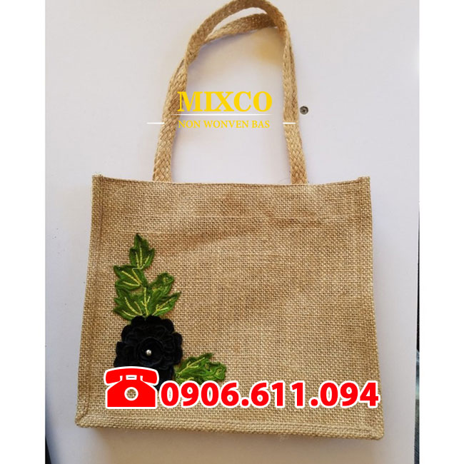 Xưởng may túi vải đay có quai giá rẻ Mixco