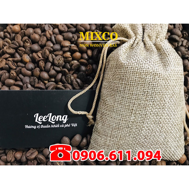 Túi vải đay đựng cà phê giá rẻ