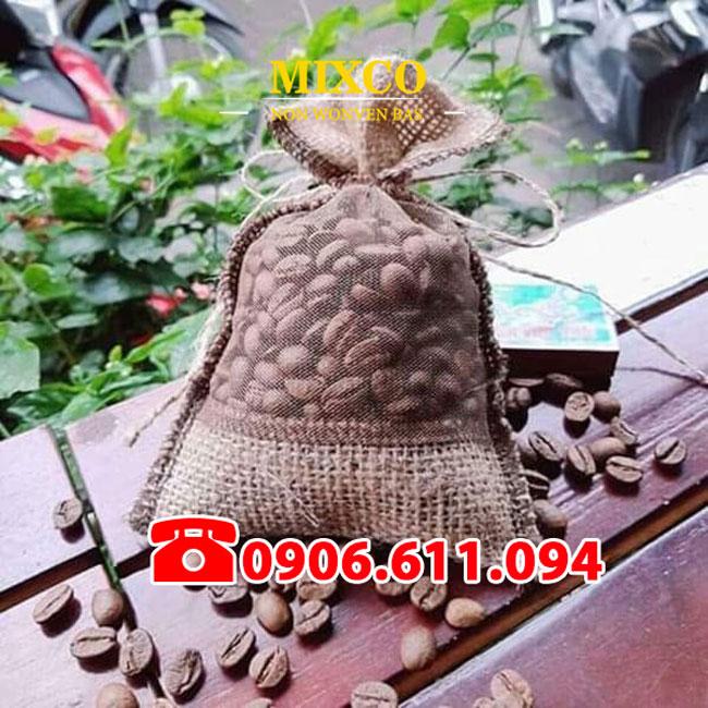Túi vải đay đựng cà phê giá rẻ TPHCM Mixco