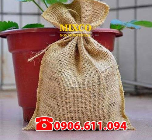 Xưởng may túi vải đay đựng cà phê giá rẻ TPHCM Mixco