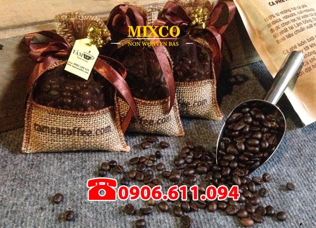 Xưởng may túi vải đay đựng cà phê giá rẻ Mixco