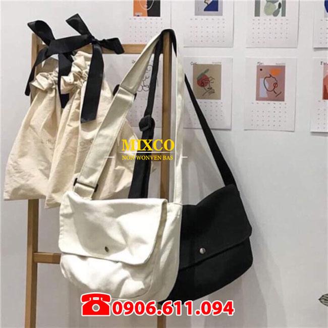Túi vải đeo chéo giá rẻ TPHCM