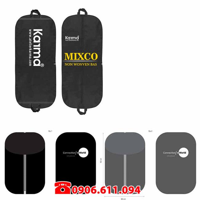 Xưởng in túi vải đựng áo Vest TPHCM Mixco