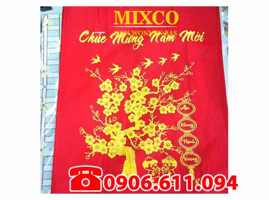 công ty túi vải đựng quà tặng lịch tết Mixco