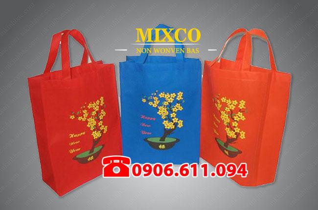 công ty túi vải đựng quà tặng lịch tết giá rẻ Mixco