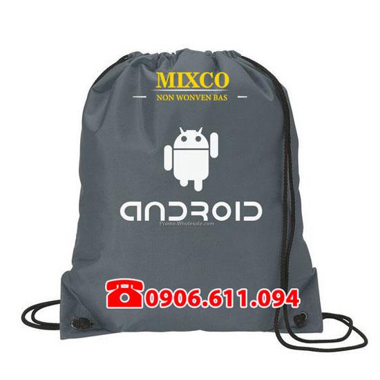 Túi vải không dệt dây rút giá rẻ TPHCM Mixco