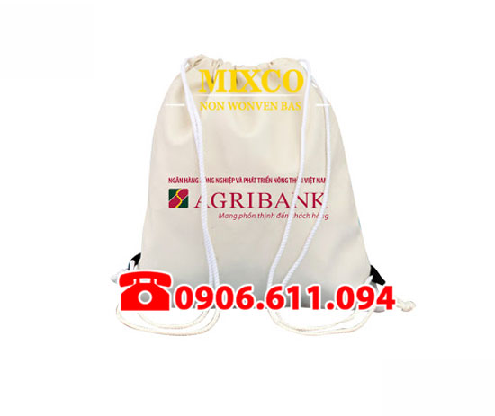 Xưởng may túi vải không dệt dây rút giá rẻ TPHCM Mixco