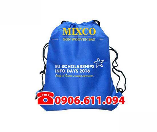 Xưởng may túi vải không dệt dây rút giá rẻ TPHCM