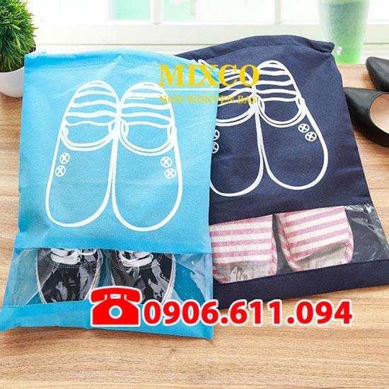 Công ty may túi vải không dệt đựng giày Mixco