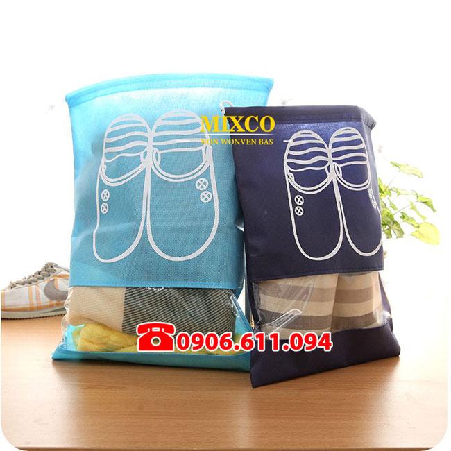 Túi vải không dệt đựng giày giá rẻ TPHCM