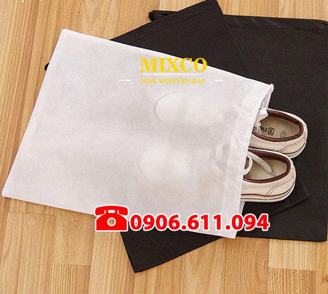 Túi vải không dệt đựng giày giá rẻ TPHCM Mixco