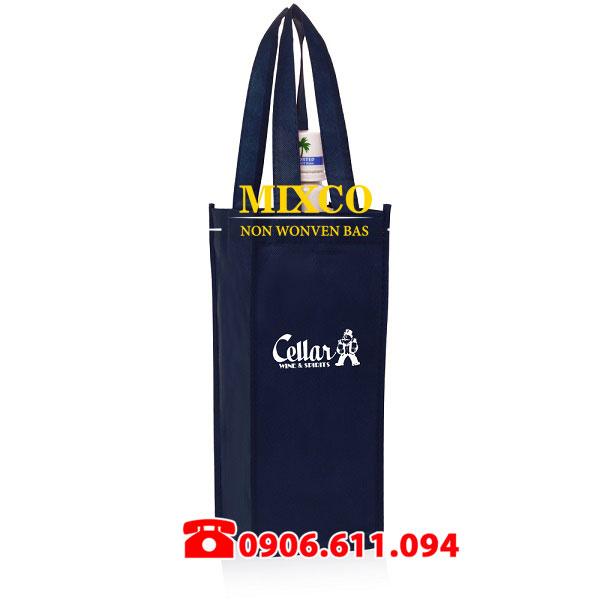 túi vải không dệt đựng rượu giá rẻ TPHCM Mixco