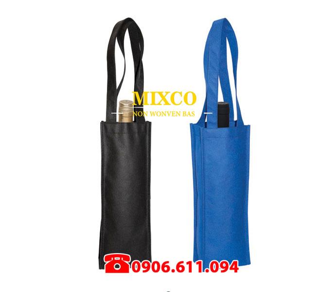 Xưởng may túi vải không dệt đựng rượu giá rẻ TPHCM Mixco