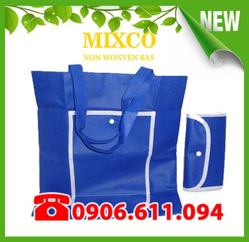 Xưởng may túi vải không dệt gấp ví giá rẻ TPHCM Mixco