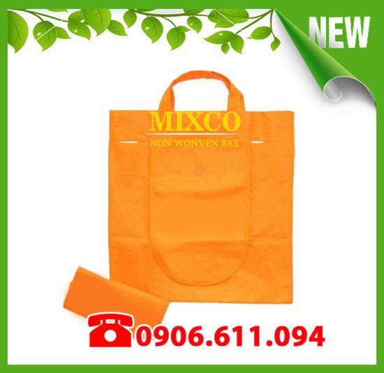 Xưởng may túi vải không dệt gấp ví giá rẻ Mixco