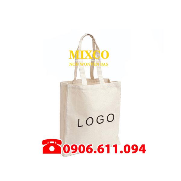Công ty may túi vải không dệt in Logo Mixco