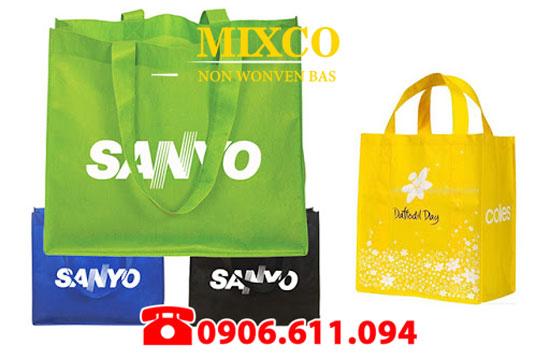 Xưởng may túi vải không dệt in Logo giá rẻ Mixco