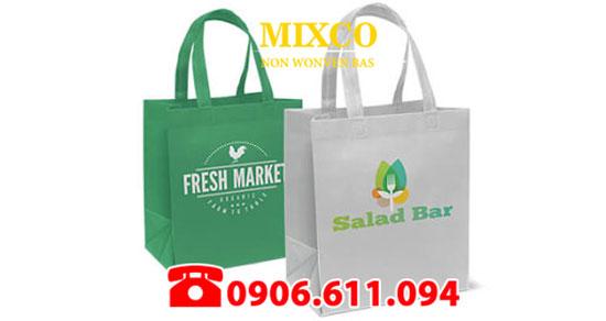 Xưởng may túi vải siêu thị TPHCM Mixco