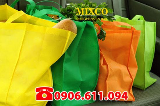 Túi vải không dệt siêu thị giá rẻ