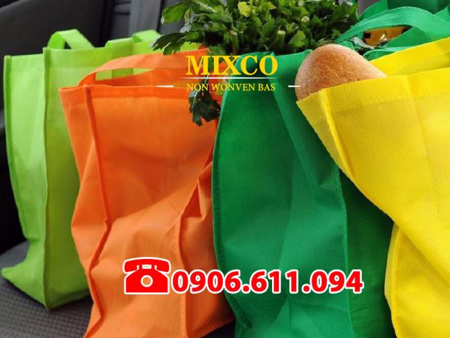 Xưởng may túi vải siêu thị giá rẻ Mixco