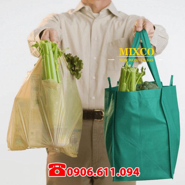 Xưởng may túi vải siêu thị giá rẻ TPHCM Mixco