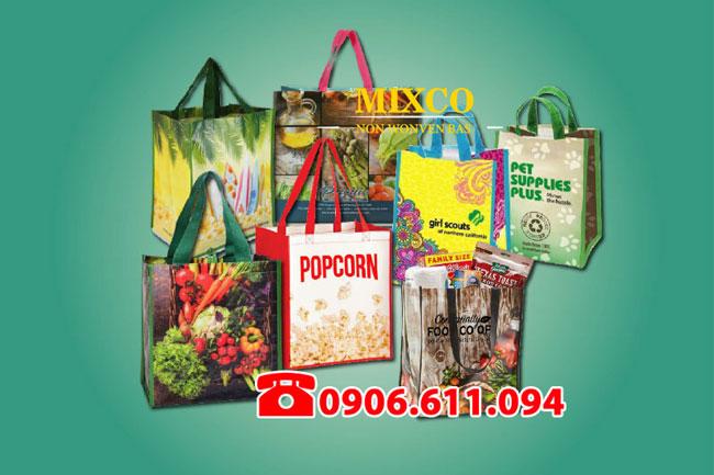 Túi vải siêu thị giá rẻ TPHCM Mixco