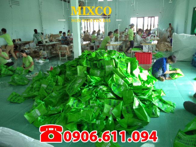 xưởng may in túi vải không dệt giá rẻ TPHCM