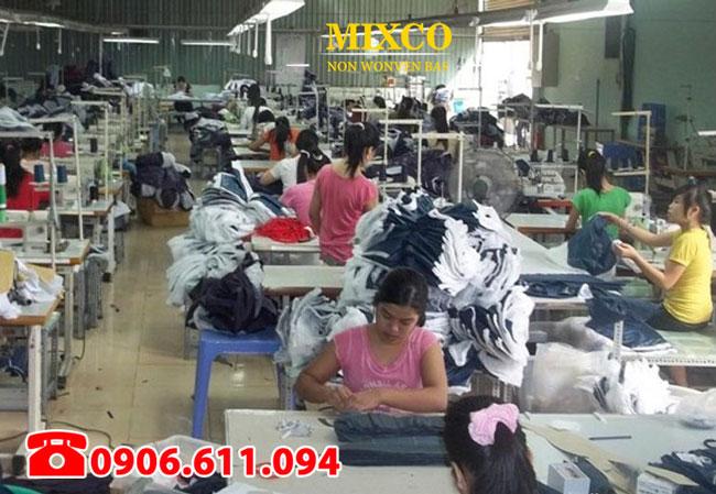 xưởng may in túi vải không dệt giá rẻ Mixco