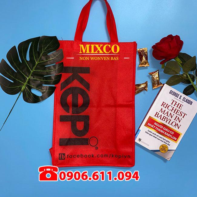 in túi vải không dệt giá rẻ Mixco
