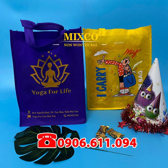 túi vải không dệt giá rẻ Mixco TPHCM