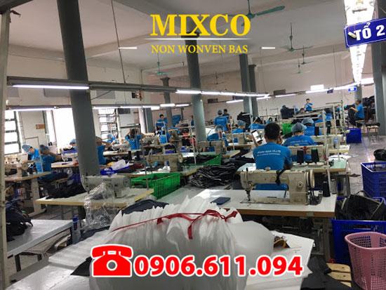 xưởng sản xuất may in túi vải Mixco TPHCM